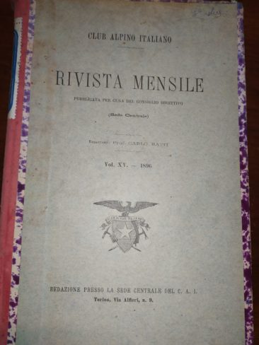 Rivista CAI del 1897